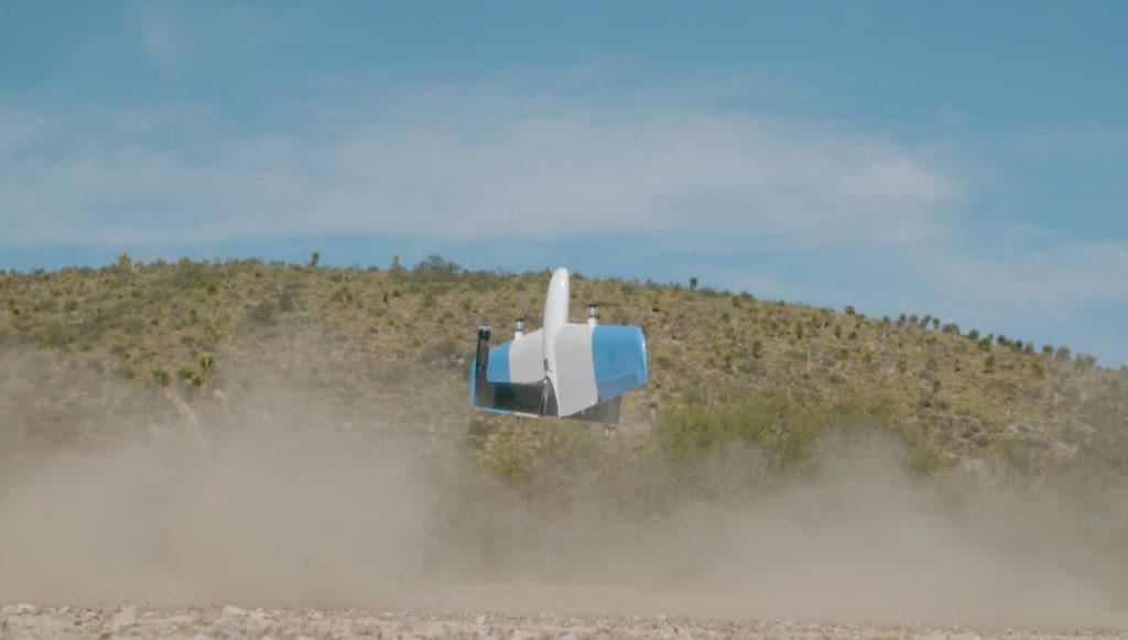 SkyOne UAV taking off to gather aerial data for AI analysis