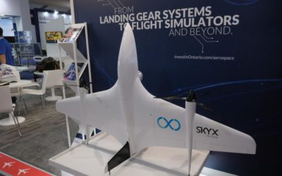 SkyX Unveils New Design at #FIA18!