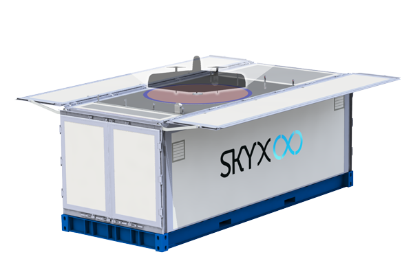 SkyX Launch Pad Station