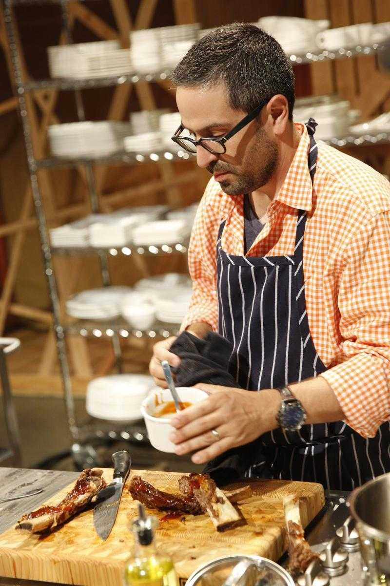 Gav Martell in the kitchen