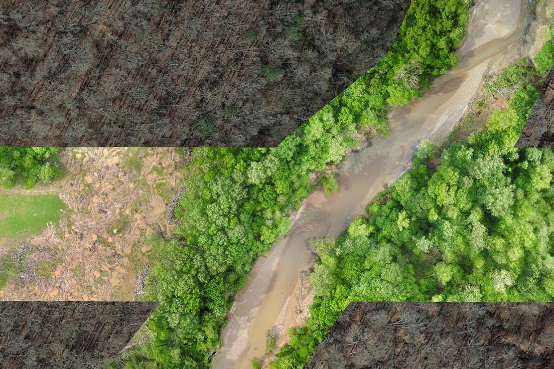 photogrammetric map from a UAV