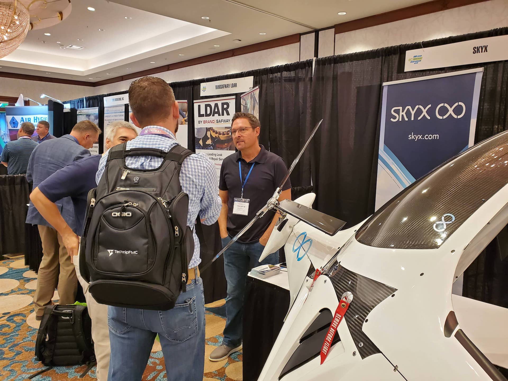 SkyX Systems at the 2021 4C HSE Conference in Austin, Texas, 4C Conference
